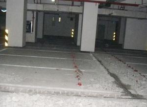 咸宁地下车库补漏